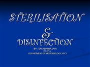 sterilisation & disinfection ppt