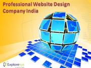 Professional Website Design Company India-Exploresys