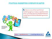 Politician Marketing Company In Jaipur