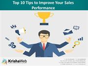 Top 10 Tips to Improve Your Sales Performance