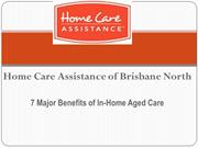 7 Major Benefits of In-Home Aged Care