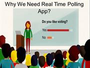Benefits of Using Real Time Polling App