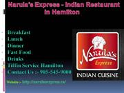 Narula's Express Indian Restaurant in Hamilton