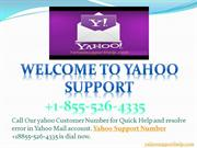 Yahoo Help number +1-855-526-4335 Contact Yahoo Phone Number