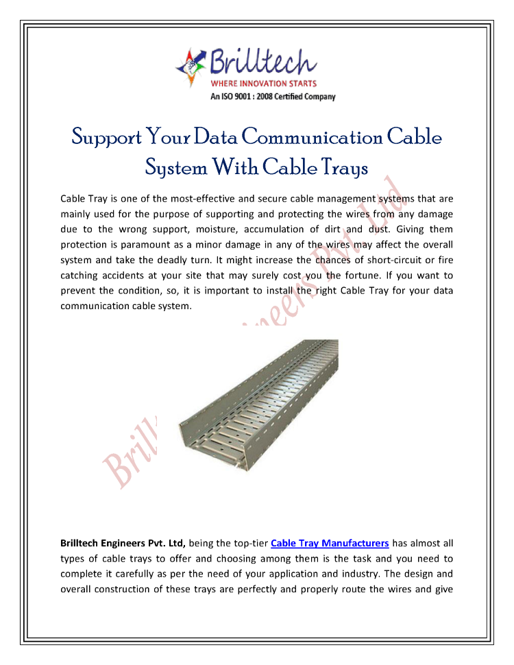Support-Your-Data-Communication-Cable-System-With-Cable-Trays ...