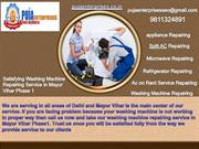 Washing machine service in Mayur Vihar phase 3