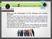 Certified Dry Cleaners, Expert, Dry Cleaning Delivery,Laundry Services