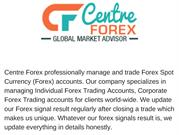 Professional Forex Managed Accounts