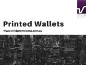 Promotional Wallets | Printed Wallets | Branded Wallets
