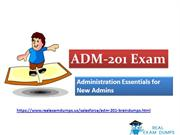 Download Salesforce ADM-201 Exam Dumps - Valid ADM-201 Dumps PDF