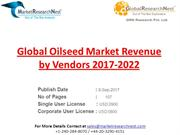 Global Oilseed Market Revenue by Vendors 2017-2022