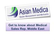 Get to know about Medical Sales Rep. Middle East