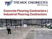 Concrete Flooring Contractors | Industrial Flooring Contractors