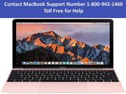 Contact MacBook Support Number 1-800-942-1460 Toll Free for Help