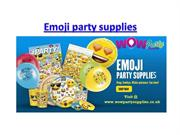 emoji party supplies uk, Kids party supplies