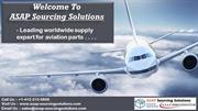 ASAP Sourcing Solutions - The best we source for aerospace industry