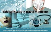 FIDSSA 2015 Ethical issues in travel medicine Presentation r - October
