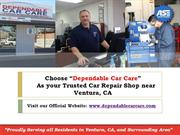 Ask your Auto Shop about