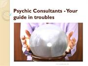 Psychic Consultants - Your guide in troubles