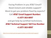 AT&T Email Customer Support Number +1-877-363-0097