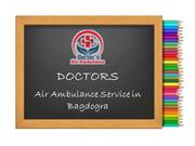 Now Easily Book an Emergency Air Ambulance Service in Bagdogra