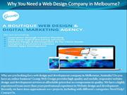 Why You Need a Web Design Company in Melbourne