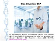Best Cloud ERP Software