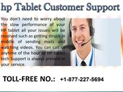 HP tablet Service number 1-877-227-5694
