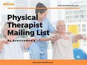Physical Therapist Mailing List