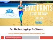 Get The Best Leggings For Women