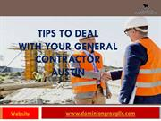 Best Commercial General Contractor in Austin at Affordable Cost