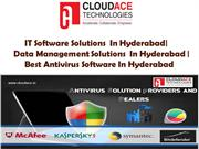 IT Software Solutions  In Hyderabad|  Data Management Solutions