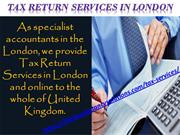 Specialist on Tax Return Service in London | The Accountancy Solutions