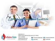Healthcare Email List and Healthcare Leads