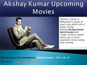 Upcoming Movies Akshay Kumar
