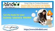 Get free business quotes from Blindbid vendors
