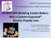 Wedding Cookie Table Contest Sept 15 2017