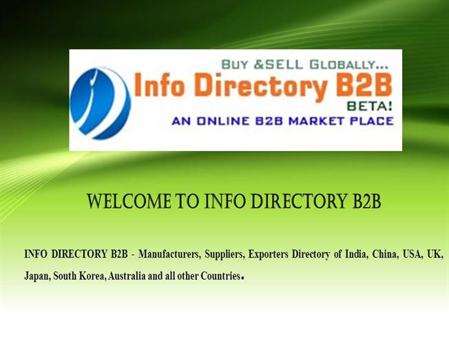 Info Directory B2B- Providing Info on Wire And Wire Netting Produc