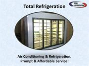 Commercial Freezer Repair Melbourne  - Total Refrigeration