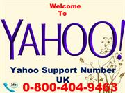 Yahoo Tech Support Number UK 0-800-404-9463 Change Your Yahoo Password