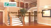 5 Home Décor Ideas to Try If You Have a Small House