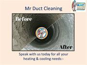 Ducted Heating And Cooling Hoppers Crossing - Mr Duct Cleaning
