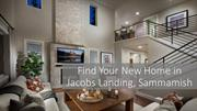 Find Your New Home in Jacobs Landing, Sammamish - Quadrant Homes