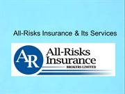 Liability Insurance-All-Risks Insurance and Its Services