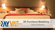 Outsource 3D Furniture Modeling Services |3D Furniture Design Firm