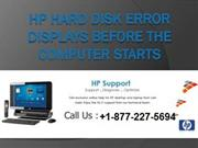 1-877-227-5694 How to Fix HP Hard Disk Error Code 301