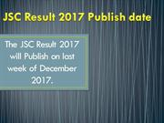 JSC Result 2017 Education Board