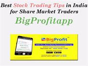 Best free Stock Trading Tips in India for Share Market Traders