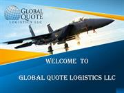 Welcome  to Global Quote Logistics LLC