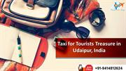 Taxi for Tourists Treasure in Udaipur, India